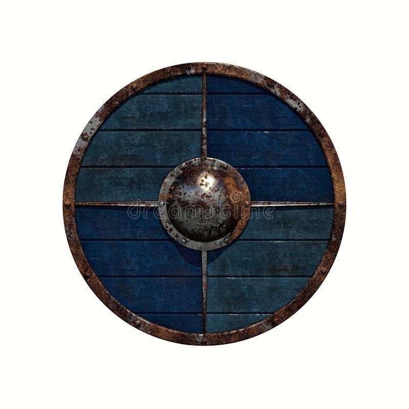 Schermo di Viking illustrazione vettoriale