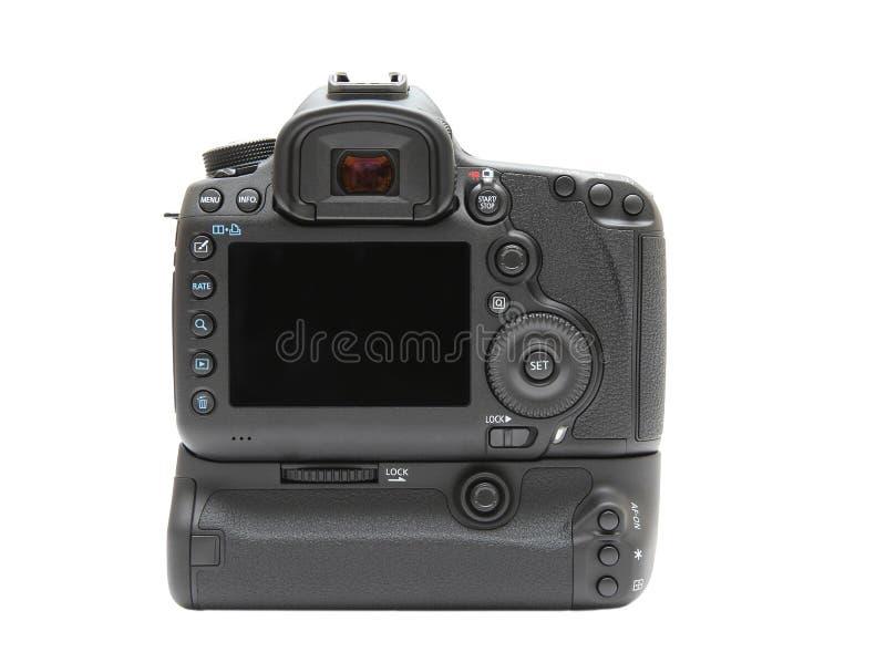Schermo di visualizzazione posteriore della macchina fotografica digitale fotografia stock