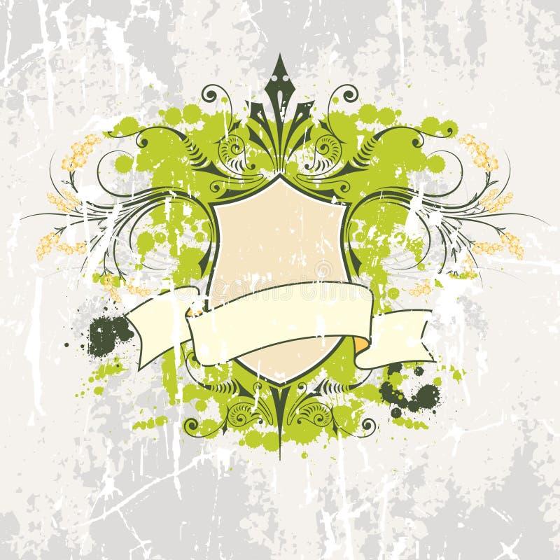 Schermo e bandiera di vettore royalty illustrazione gratis