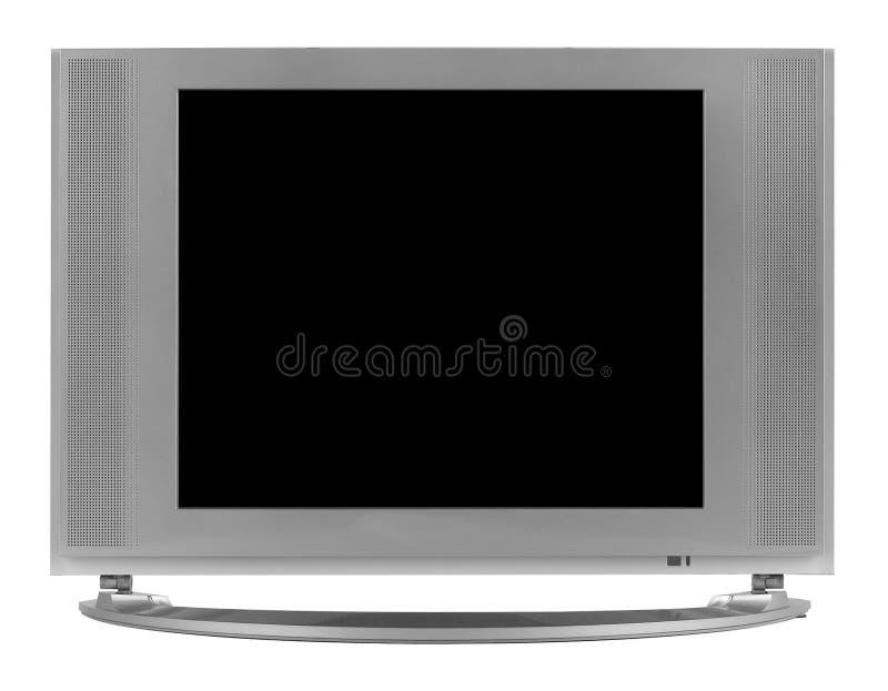 Schermo piano TV di alta definizione dell'affissione a cristalli liquidi fotografie stock