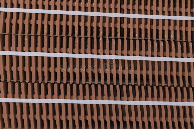 A schermo pieno con le mattonelle di tetto fotografia stock libera da diritti