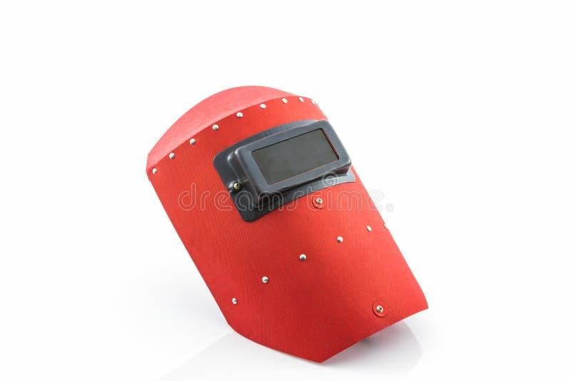Schermo protettivo rosso immagini stock