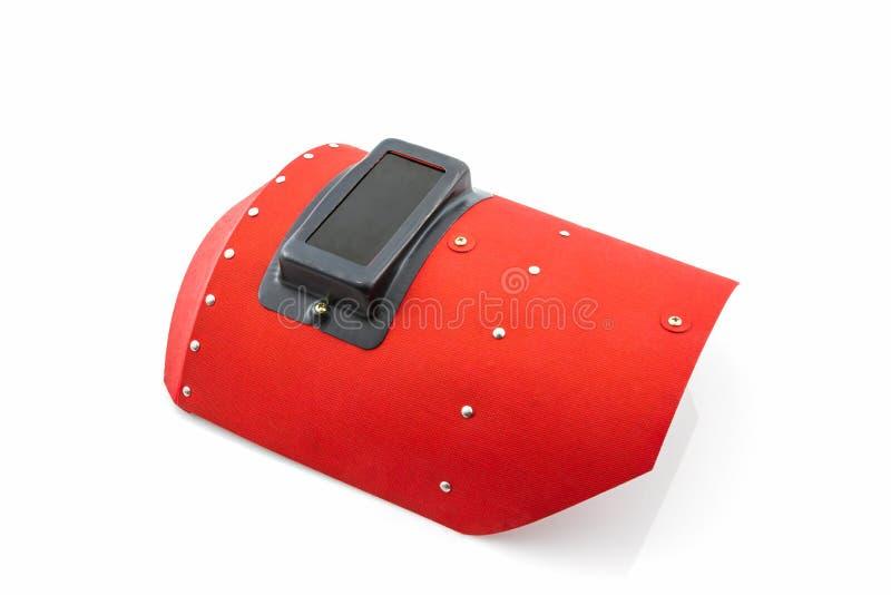 Schermo protettivo rosso fotografia stock