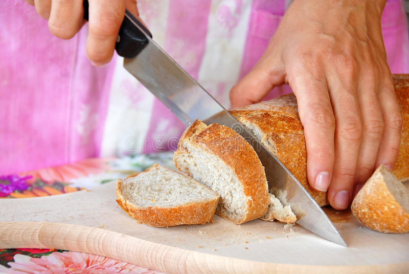 Scherp brood stock afbeelding