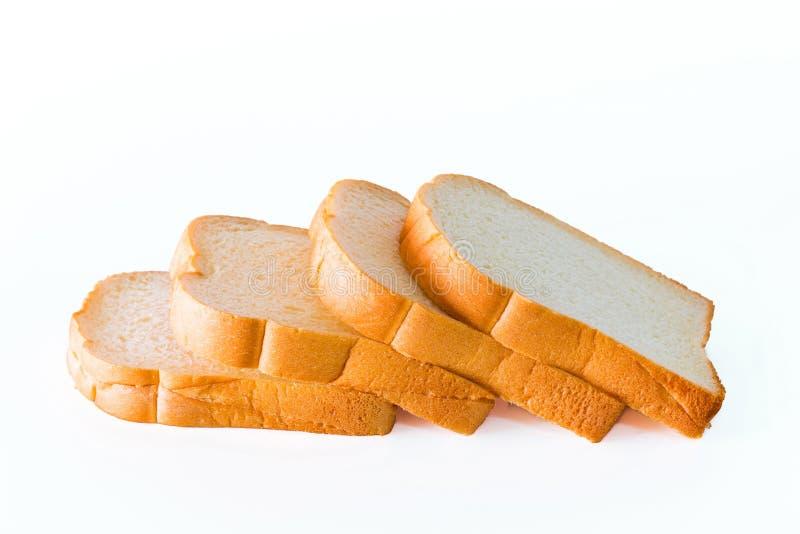 Scherp brood op een plaat stock fotografie
