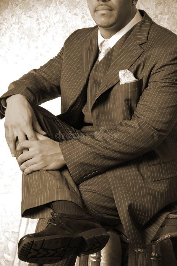 Scherp gekleed mannetje royalty-vrije stock afbeeldingen