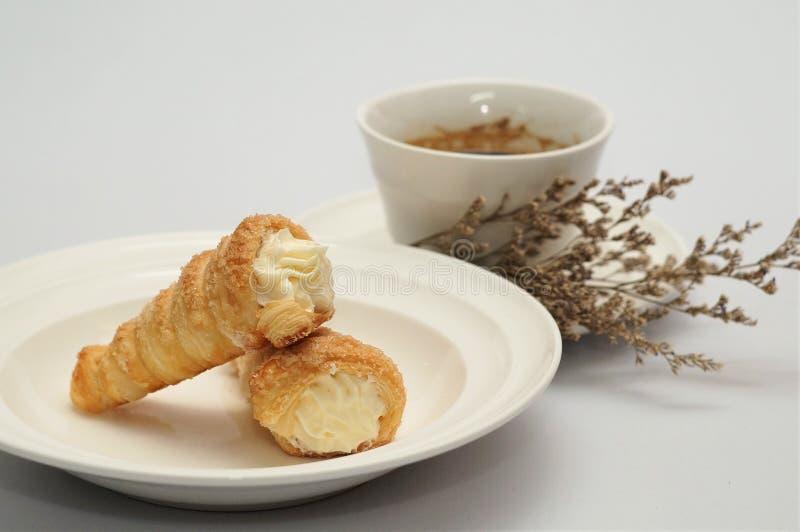 Scherp & Pastei, Eigengemaakte Gebakken, Verse Maaltijd, scherp of zuur in smaak een gebakken schotel van fruit, of vlees en groe royalty-vrije stock afbeelding