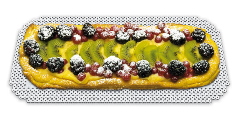 Scherp rechthoekig fruit royalty-vrije stock fotografie