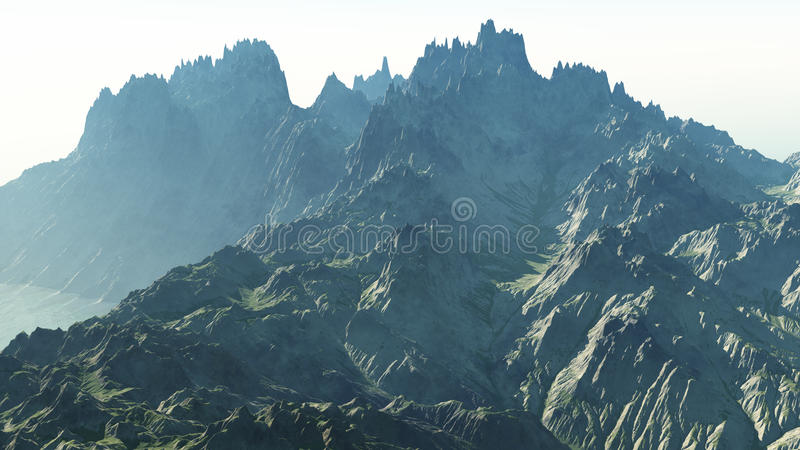 Scherp Rocky Cliffs