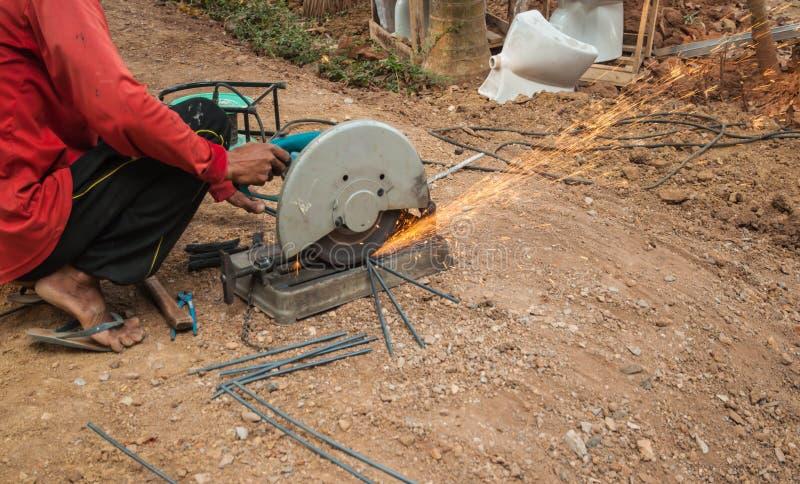 Scherp staal stock fotografie