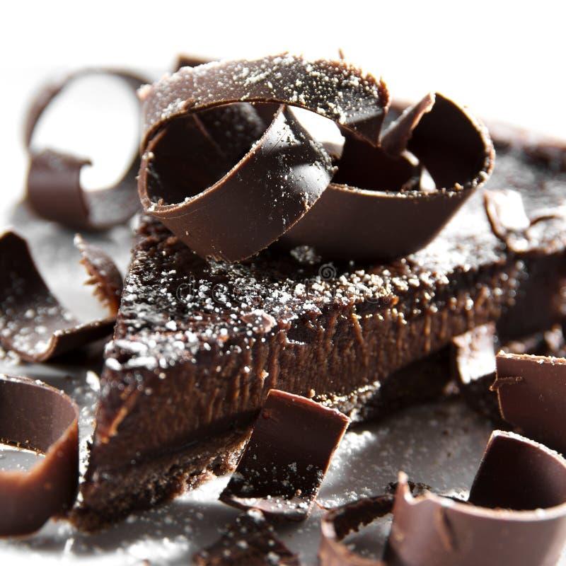 Scherpe chocolade royalty-vrije stock foto's