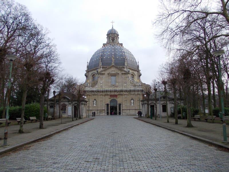 Scherpenheuvel-Basilika stockfotos