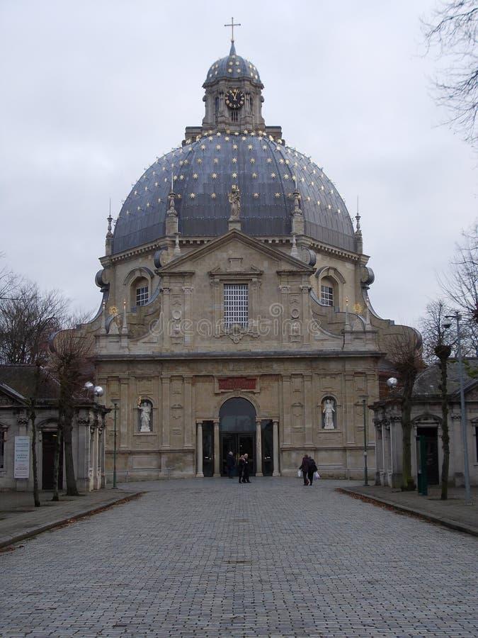 Scherpenheuvel-Basilika stockfoto