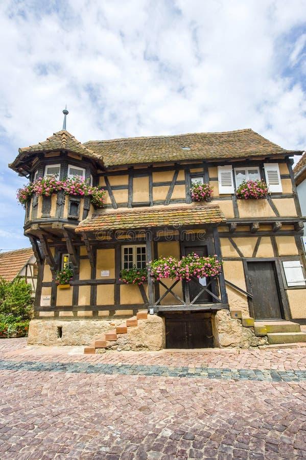 Scherwiller (Alsace) - Chambre photographie stock