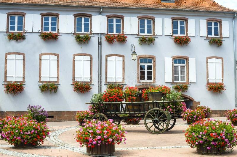 Scherwiller (Alsace) - Chambre images libres de droits