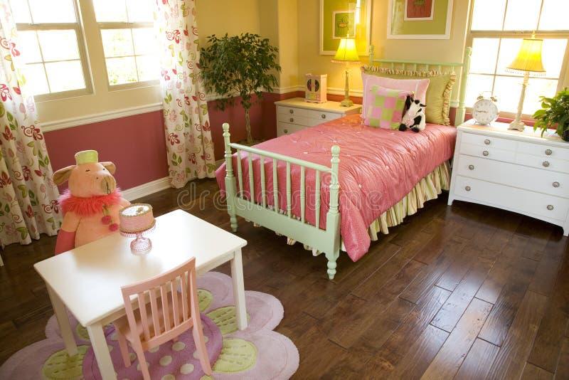 Scherza la camera da letto 1810 fotografia stock