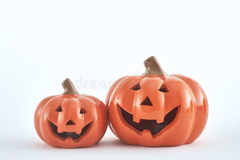 scherzetto o dolcetto delle decorazioni del partito di Halloween immagine stock