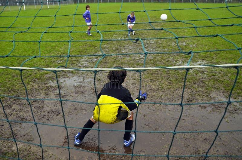 Goali in fango immagini stock libere da diritti