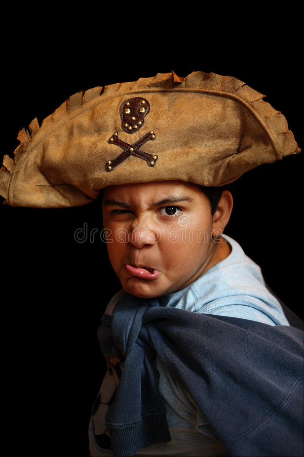 Scherzi il pirata fotografia stock