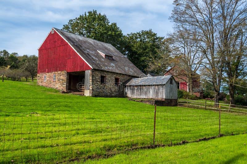 Scheune Bucks County stockbilder
