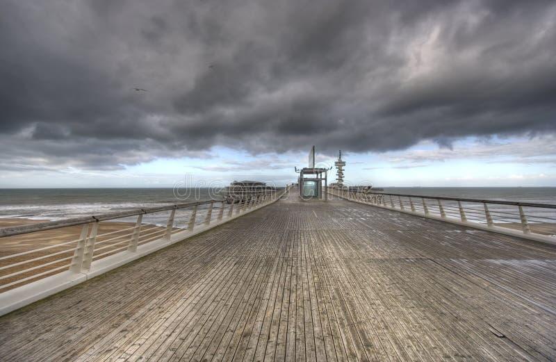 Scheveningen Pier royalty free stock photo