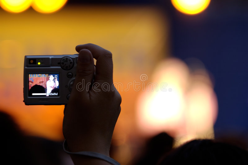 Schießenfoto stockfotografie