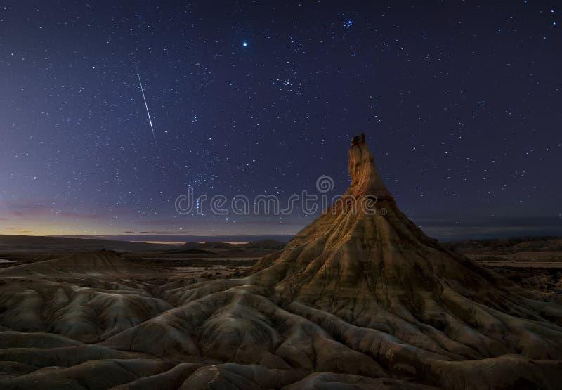 Download Schießenstern stockfoto. Bild von universum, reise, blau - 27727172