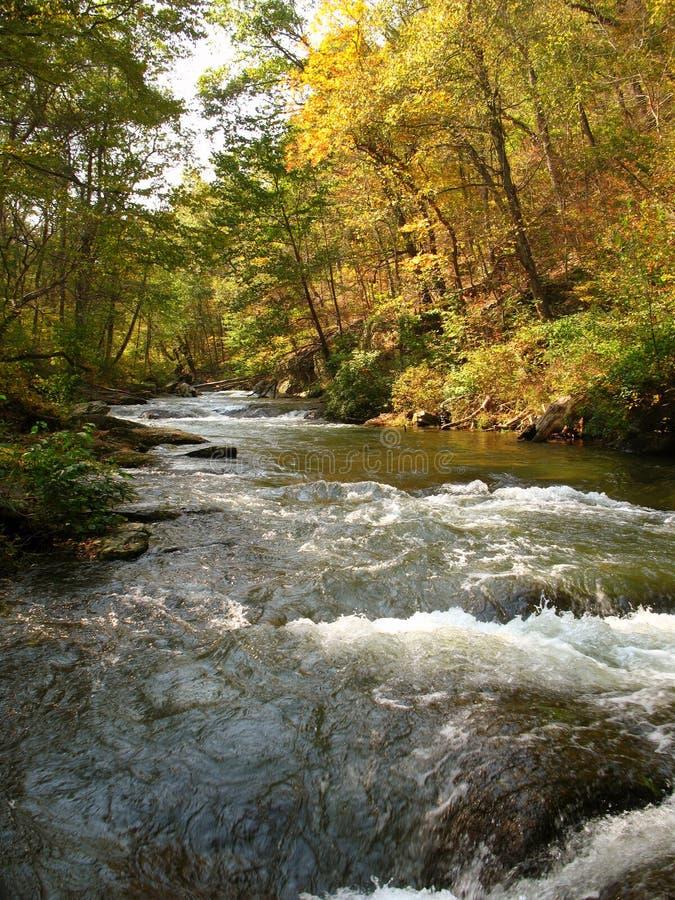Schießpulver Fluss-Oktober stockfotos