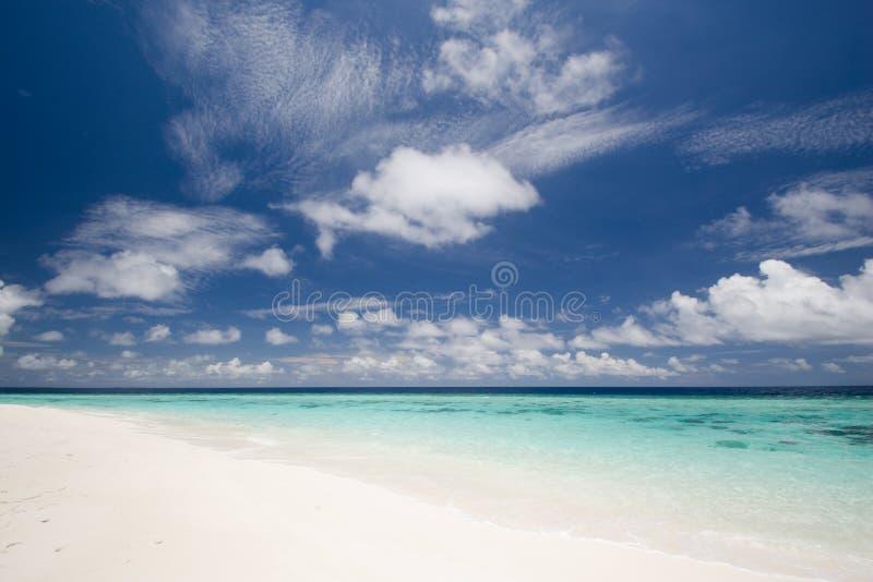 Schieben der Wolken lizenzfreie stockfotos