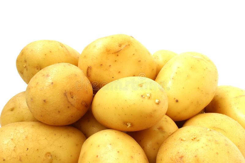 Schieben Sie von der Kartoffel lizenzfreie stockbilder