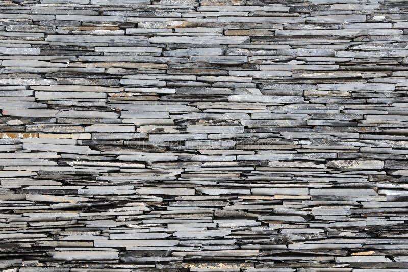 Schiefer-Steinwand lizenzfreies stockfoto