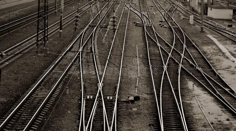 Schienen stockfotos