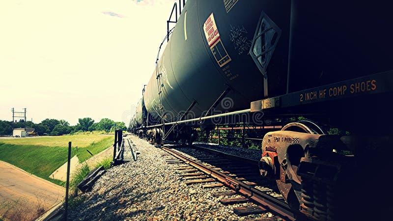 Schienenfahrzeuge stockbild