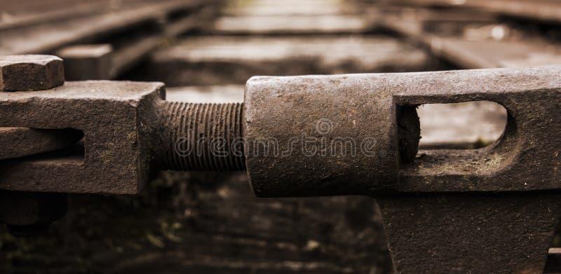 Schienenschalter stockfotos