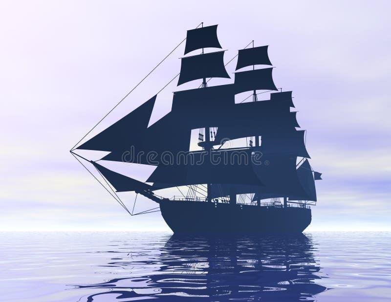 Schiff lizenzfreie abbildung