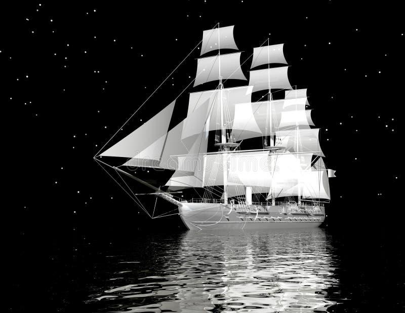 Schiff vektor abbildung