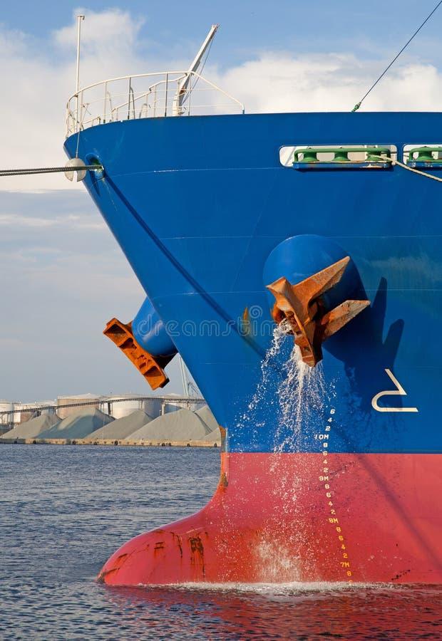 Schiffs-Bogen stockbild