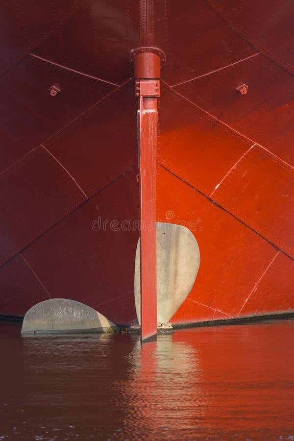 Schiffs-Propeller lizenzfreie stockfotos