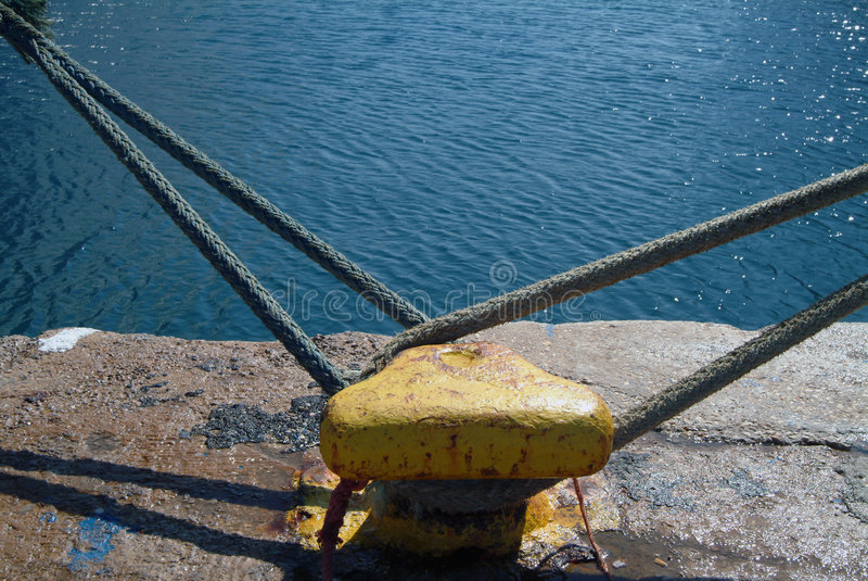 Schiffspoller lizenzfreies stockfoto