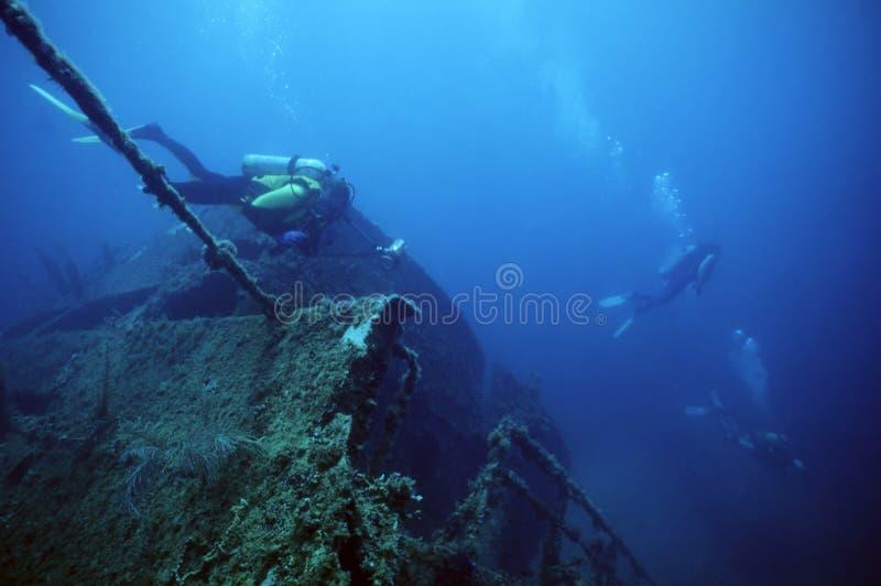 Schiffswrack Series1 stockfoto