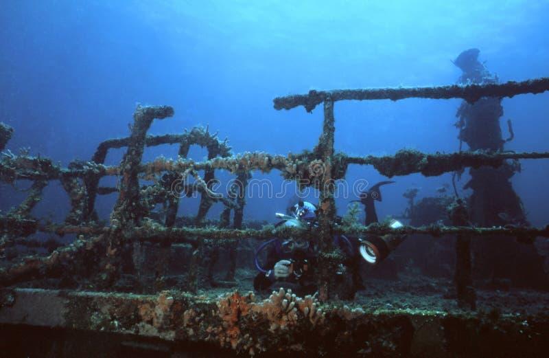 Schiffswrack Series2 lizenzfreie stockfotos