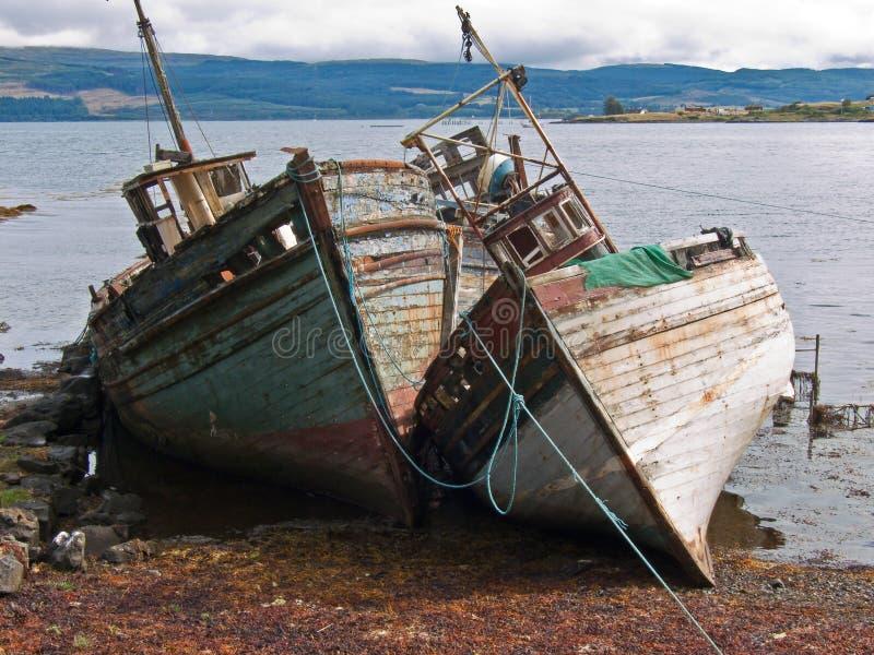 Schiffwracks_mull_3 imagem de stock