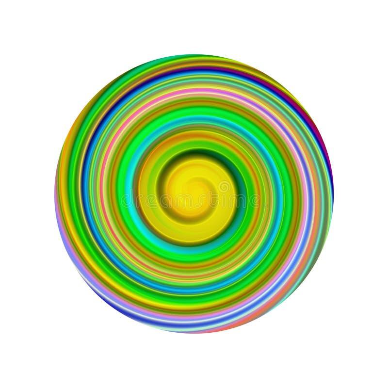 Schijf 2 vector illustratie