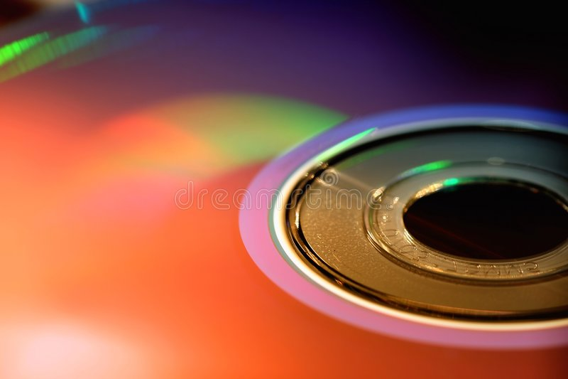 Schijf DVD royalty-vrije stock afbeeldingen