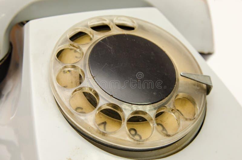 Schijf uitstekende telefoon stock afbeelding