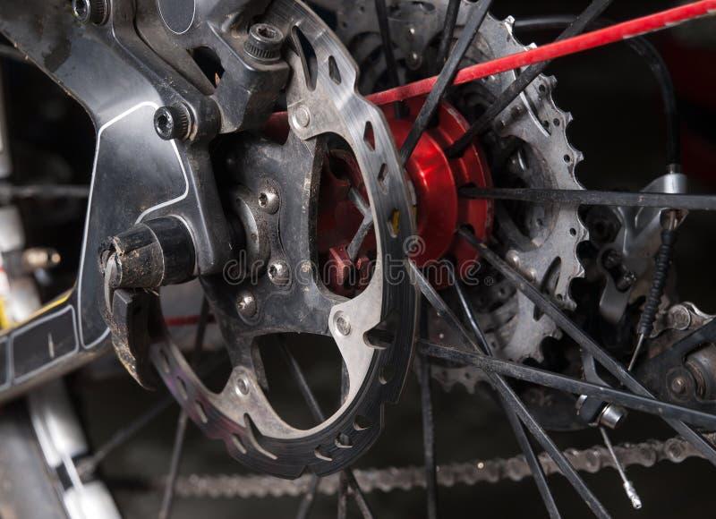 Schijfrem van een fiets royalty-vrije stock foto's