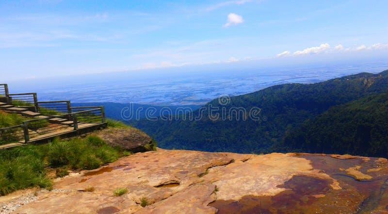 Schijnbare schoonheid van Shillong, meghalaya, heuvelstation in het noordoosten, india royalty-vrije stock foto's