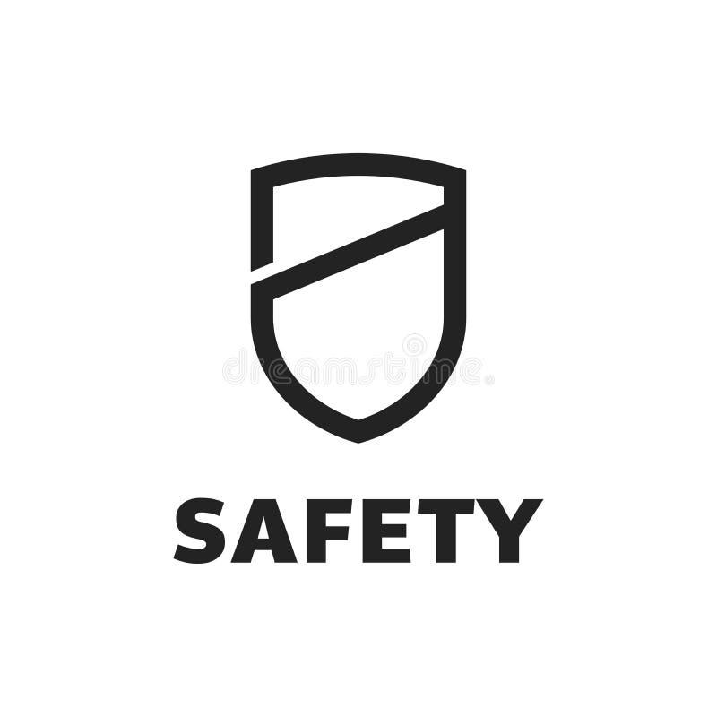 Schild-Icon im trendigen Stil isoliert auf weißem Hintergrund Schild-Symbol für Ihre Website-Design, Logo, App, Benutzeroberfläch vektor abbildung