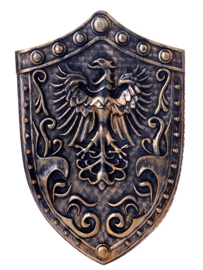 Schild met adelaar stock fotografie