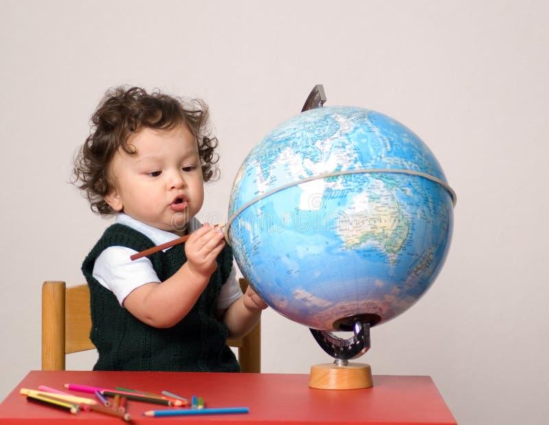Schilder de wereld. royalty-vrije stock afbeeldingen